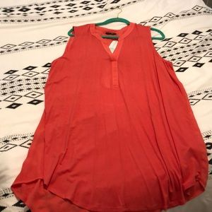 Paper moon Coral blouse